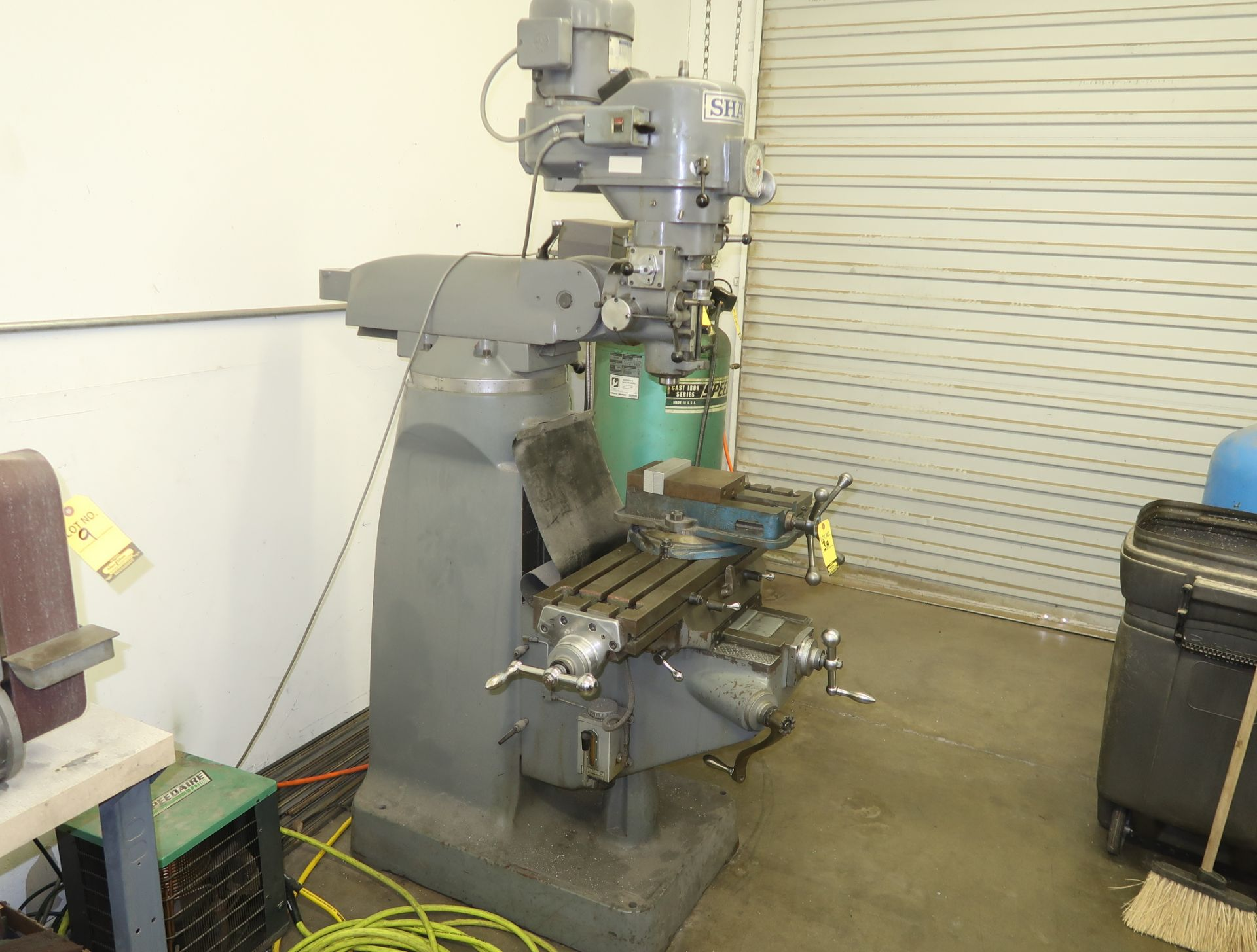 Lot 3 - SHARP MDL. LMV VERTICAL KNEE MILL W/2-AXIS DRO, SN. 01016452