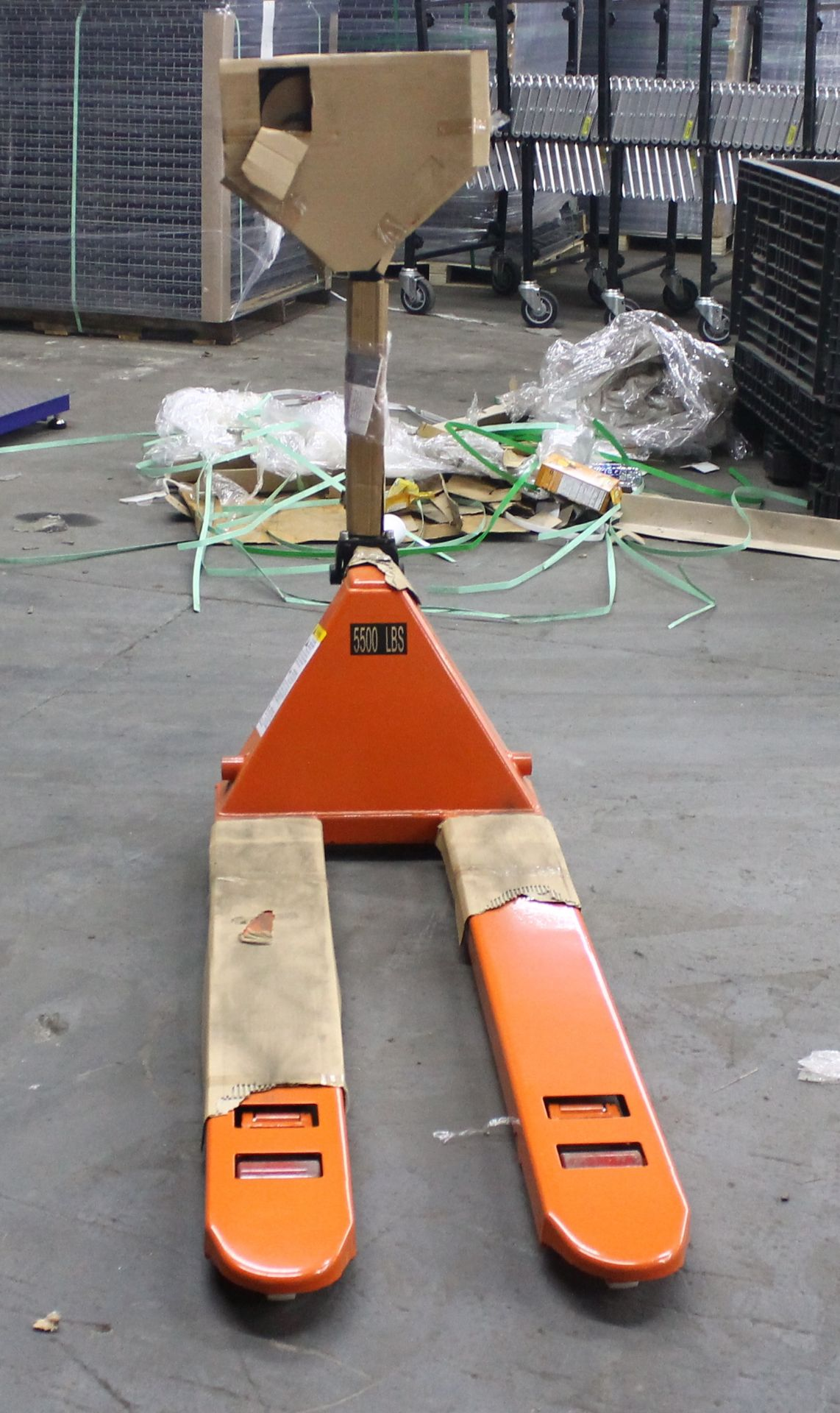 "Lot 19 - 20""W X 48""L BRAND NEW NARROW PALLET JACK"