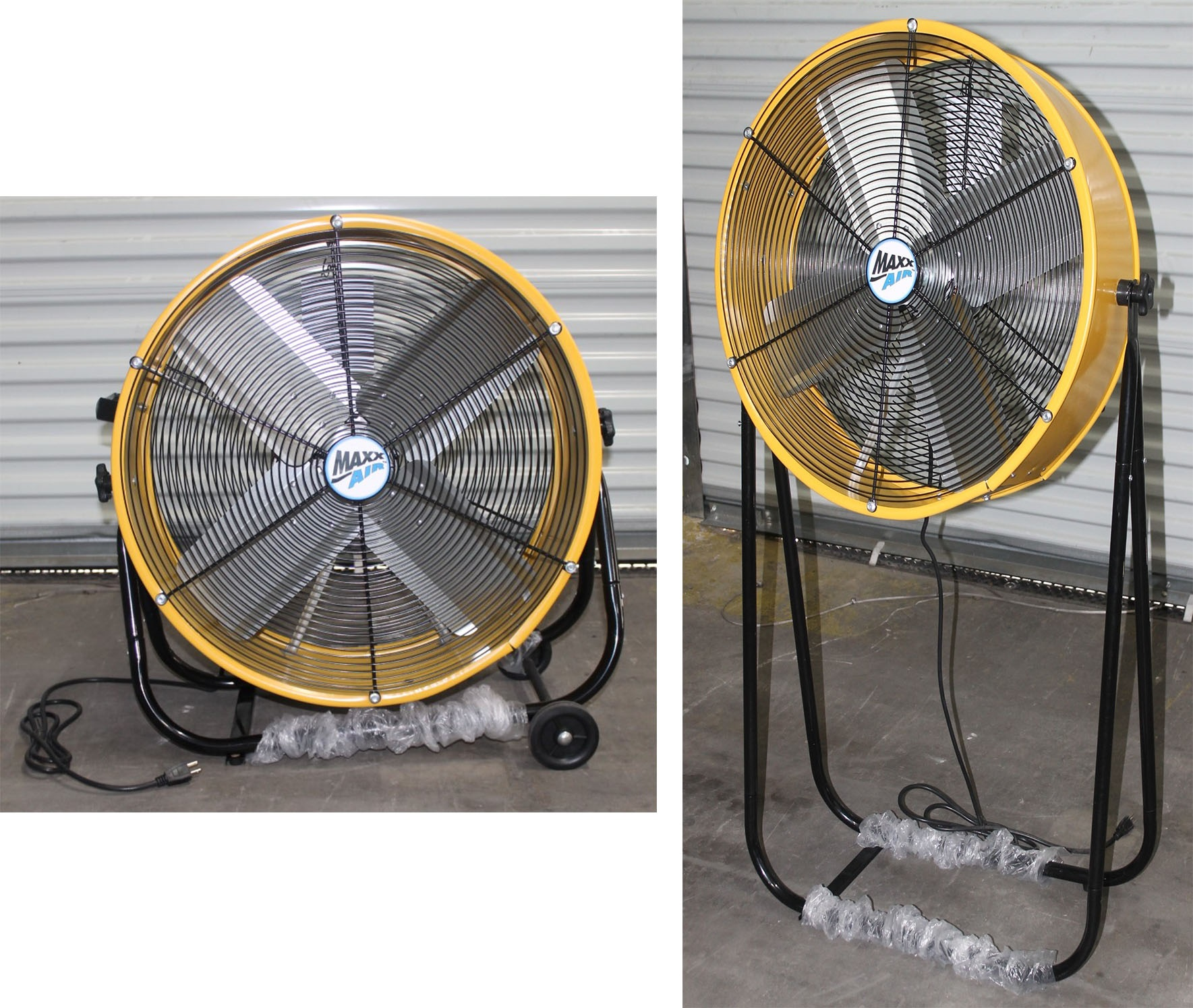 "Lot 30 - MAX AIR 24"" 2 IN 1 TILT FAN"