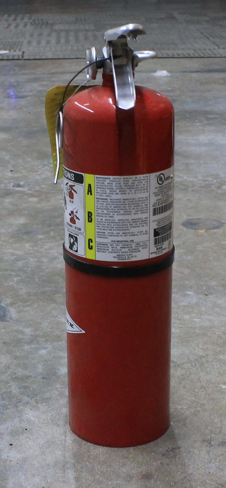 Lot 61 - 5 PCS OF FIRE EXTINGUISHER - CLASS ABC 10LB