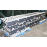 "Lot 5 - 24 FT OF 26""W GRAVITY ROLLER CONVEYOR"