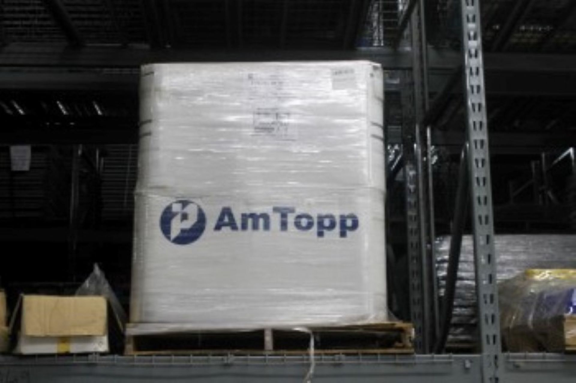 Lot 8 - FULL PALLET OF AMTOP XTREME 0.63MIL X 20 INCH-CLEAN STRETCH FILM ROLL 50 ROLLS TOTAL IN PALLET