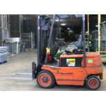 Lot 3 - BAKER 4000 LBS CAPACITY ELECTRIC FORKLIFT.
