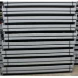 "NEW 60 PCS OF 108"" X 4.5"" KEYSTONE BEAM- 5500 LBS CAPACITY/PAIR"