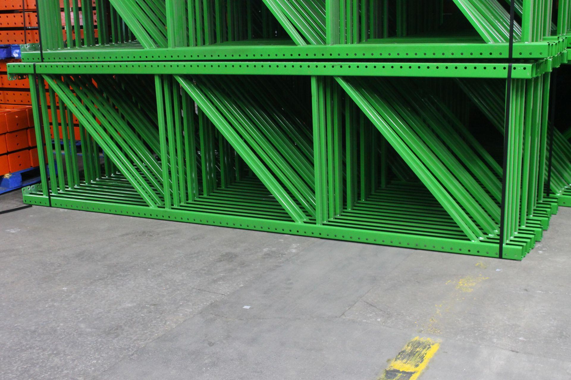 """Lot 34 - NEW 15 PCS OF TEARDROP UPRIGHT. SIZE 12'H X 42""""D, 3""""X 3"""" GREEN"""