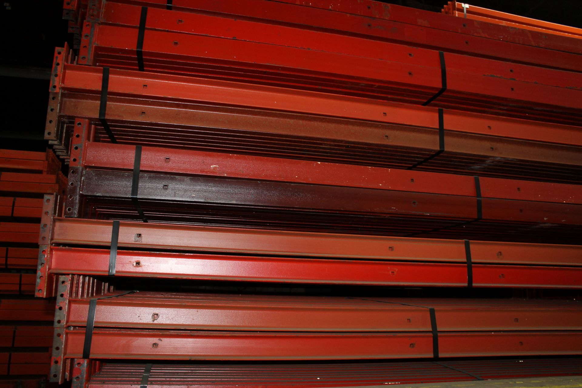 "Lot 13 - 14 BAYS OF 126""H X 42""D X 102""L STRUCTURAL PALLET RACKS"