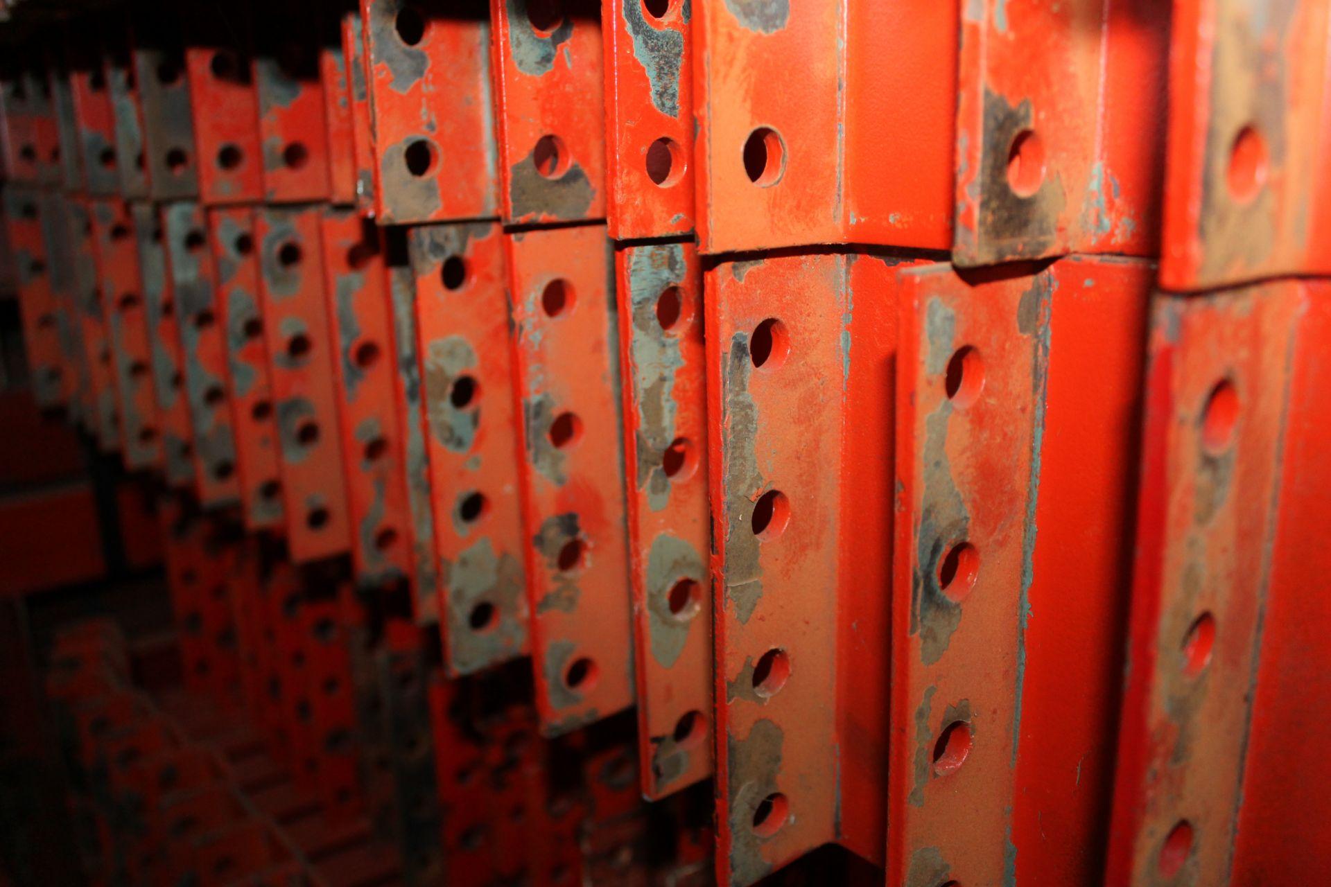 "28 BAYS OF 126""H X 42""D X 102""L STRUCTURAL PALLET RACKS - Image 4 of 4"