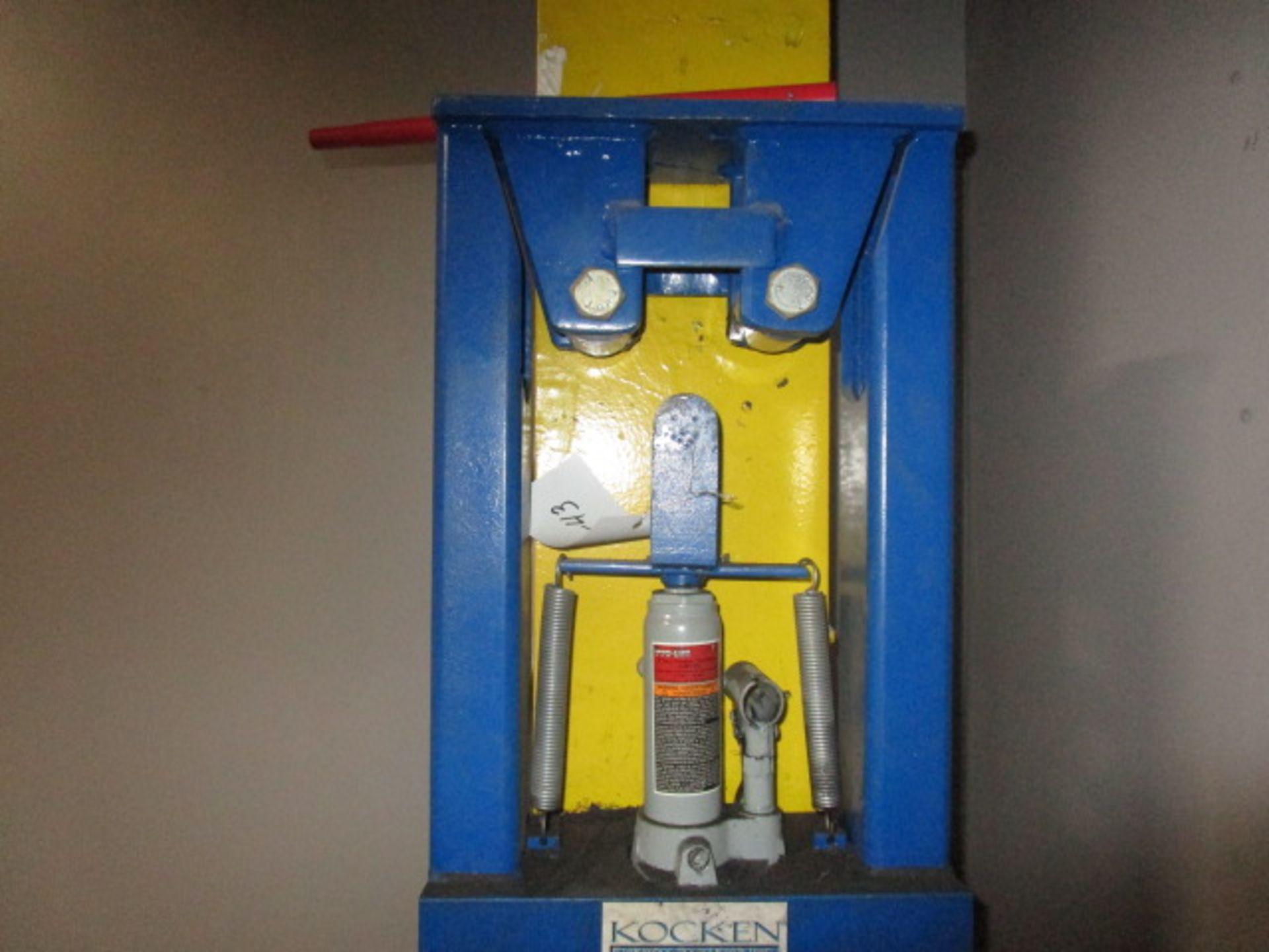Lot 43 - Nochen Hydraulic Press 2 Ton for Bending Pipe