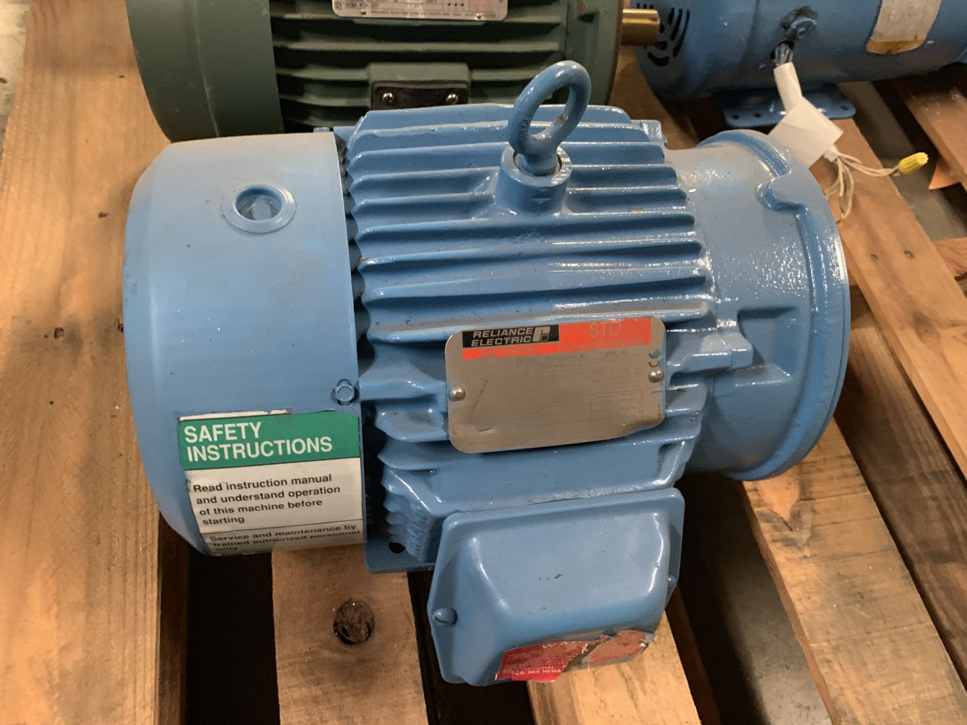 Lot 10 - Reliance Electric 5HP Motor