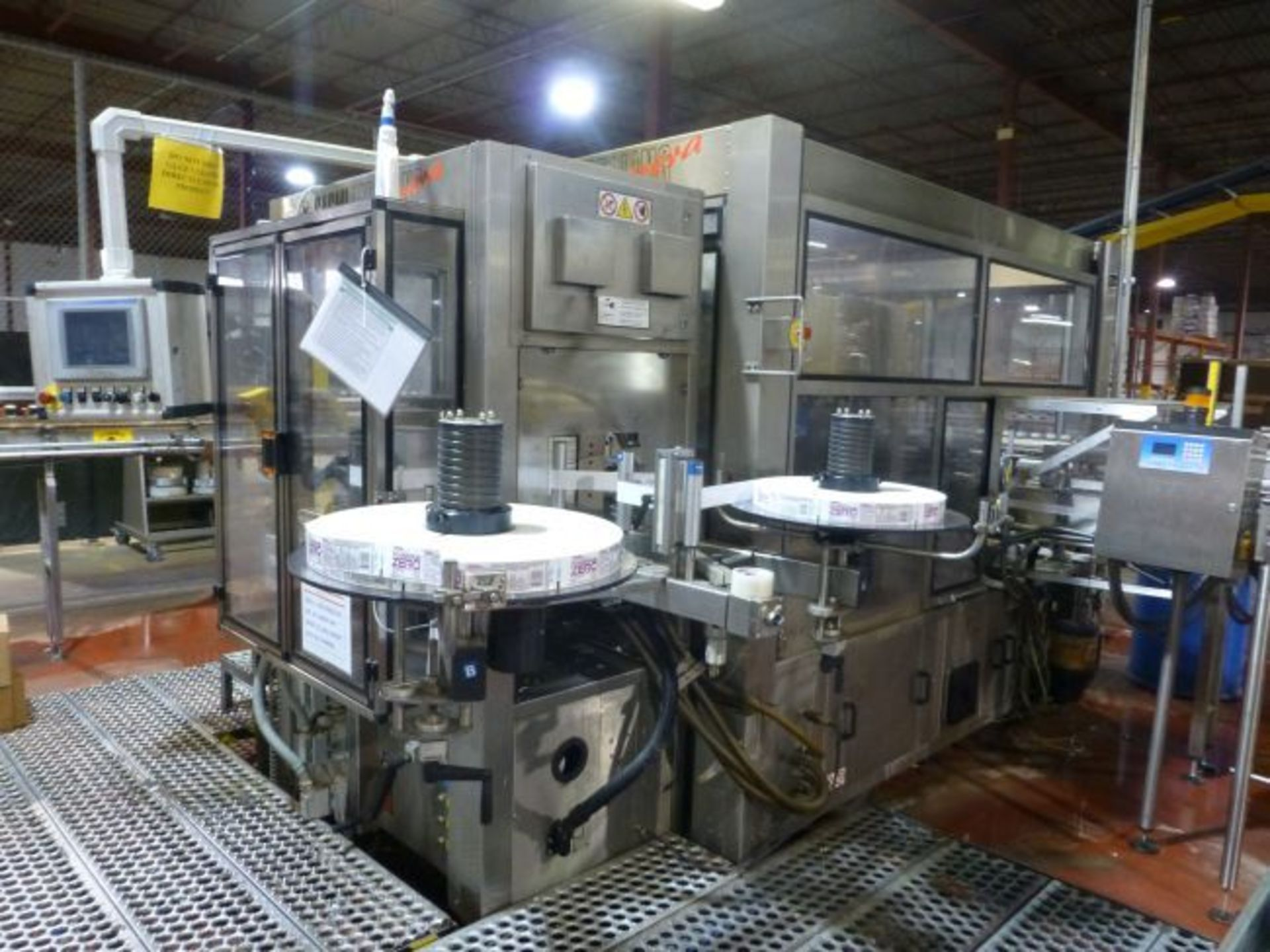 Lot 51 - 2005 Sacmi High Speed Roll Fed Labeler