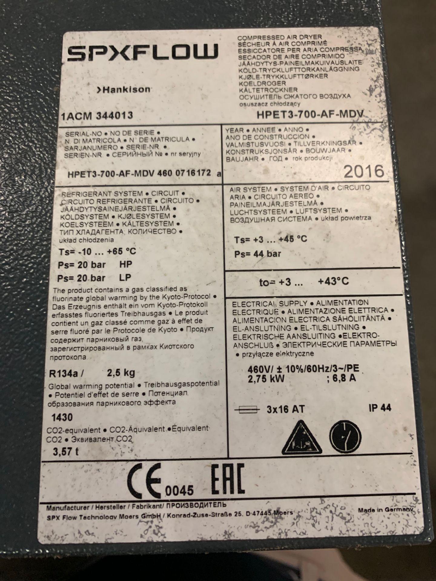 Lot 11 - 2016 Hankinson Air Dryer