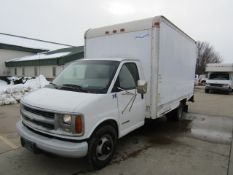 2001 Chevy G3500 Cube Van, Vin #1GBJG31R511160681, Automatic Transmission, 5.7 Liter Motor, 184,