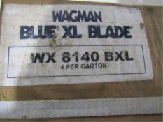 Box of 4 New Trowel Blades, Blue XL, WX8140 BXL