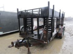 "1995 Cronkhite Form Trailer VIN#473252027T1111102, 6'9"" x 16', additional $25.00 title fee"