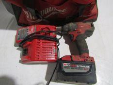 Milwaukee M18 Red Lithium 9.0 Hammer Drill