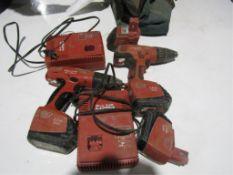 (1) SF-150A & (1) SF-151A Hilti Drills