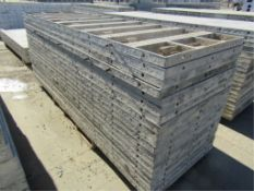"""(20) 36"""" x 10' Wall-Ties/Precise Concrete Forms, Attached Hardware Smooth 6-12 Hole Pattern"""