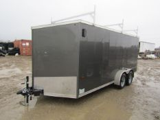 '16 Forest River Cargo V-Nose Trailer, Vin #5NHUUS62XGW059992, 16' x 7', additional $25.00 title