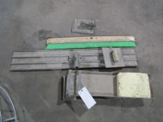 Assorted Concrete Tools
