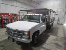 1999 Chevy GMC 400 3500 Flat Bed Truck, Vin# 1GBJC34RXXF035114, Automatic, 188,616 miles, Form