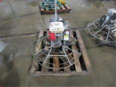 MBW F36/4 Concrete Power Trowel, Honda GX160 5.5, Serial #1726969