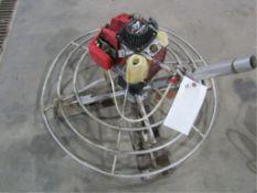 Power Pole Finisher, Honda GX22 4 Stroke Motor