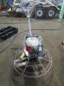 MBW F36/4 Concrete Power Trowel, Honda GX160 5.5, Serial #1731918