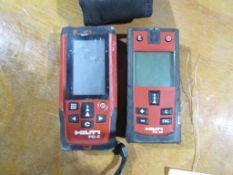 (1) Hilti PD-E & (1) PD42 Laser
