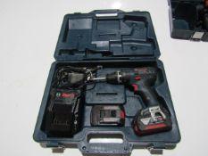 Bosch Cordless Drill, 18 Volt