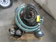 (5) Pumps with hoses