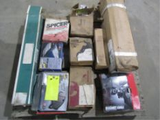 Pallet of Truck Parts