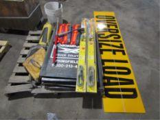 Pallet Mud Flaps, Signs, Reflectors, Etc.