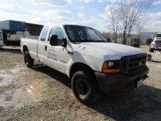 2001 Ford F250 Super Duty 4 x 4 Truck, Vin # 1FTNX21F61EC20487, 318,855 miles, Automatic, Power