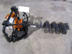 Stihl BT130 Gas Powered Post Hole Digger, Serial # 139L39 Located in Hopkinton, IA