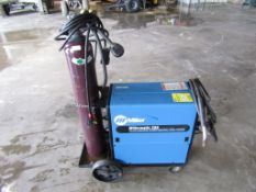 Millermatic 250 CV-DC Wire Feed Welder, Serial # KH572039, Phase 1, 200/230/460 Volt, without