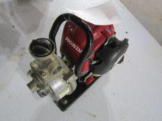 Honda WX10T Water Pump, 4 Stroke Motor, Serial # GCALT-3141189, Located in Hopkinton, IA
