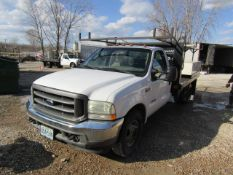 2004 Ford F350 Super Duty Utility Truck, Vin# 1FDWF36P34EA10279, 228,108 miles, Automatic, Power
