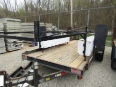 Pickup Rack with Boxes, Located in Wildwood, MO
