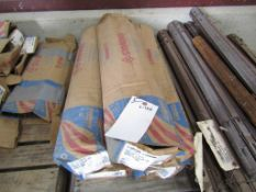 """(5) Boxes Symons Standard 18"""" X-Flat Ties, Located in Hopkinton, IA"""