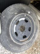 Michelin Tire with Rim, LT275/70 R18, Load Range E, Located in Wildwood, MO