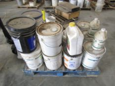 Pallet 15 cans of Sealer, Cure, Brick Form Release, Located in Hopkinton, IA
