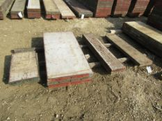 """Assorted 4' Steel Ply Forms, (3) 4' x 24"""", (1) 4' x 12"""", (2) 4' x 10"""", (2) 2' x 14"""" Steel Ply Forms,"""