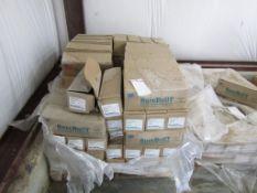 "(97) Boxes Sure Built 6"" HD Loop Ties (100/box), Located in Hopkinton, IA"