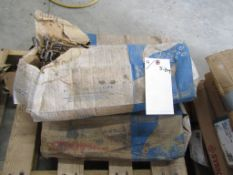 """(4) Boxes Symons 8"""" S Base Ties, Located in Hopkinton, IA"""