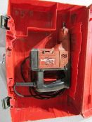 Hilti TE-35 Hammer Drill, missing part, 120 Volt, Located in Hopkinton, IA