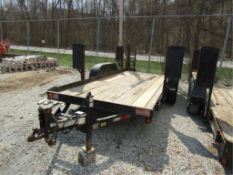 2007 Cronkhite Trailer with Ramps, Model # 2616EWA, Vin # 47326202771000018, Located in Wildwood,