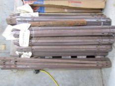 (15) Bundles of Miscellaneous X Flat Ties, Located in Hopkinton, IA