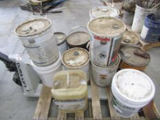 Pallet 13 count cans of Sealer, Cure & Patch, Located in Hopkinton, IA