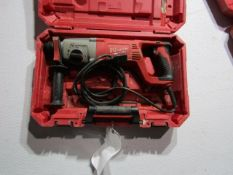 "Milwaukee 1"" SDS Rotary Hammer Drill, 120 Volt, Located in Hopkinton, IA"