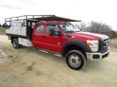 2015 Ford F-550 Super Duty 4 Door Utility Truck, Vin # 1FDOW5HT1FED04584, 110,223 miles, 6.7L